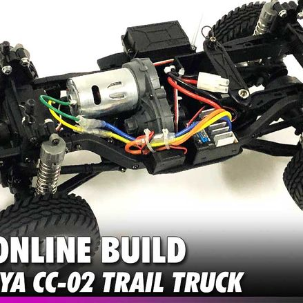 Tamiya CC-02 Online Build - CompetitionX