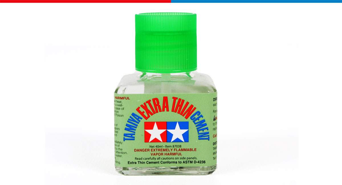 Tamiya Panel Line, Extra-Thin Cement and Airbrush Cleaner - BACK IN STOCK!