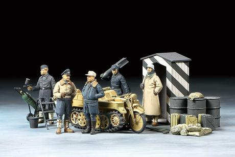 1/48 Luftwaffe Crew (Winter)