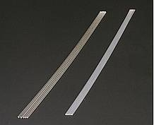 2Mm Clear Soft Plastic Beams