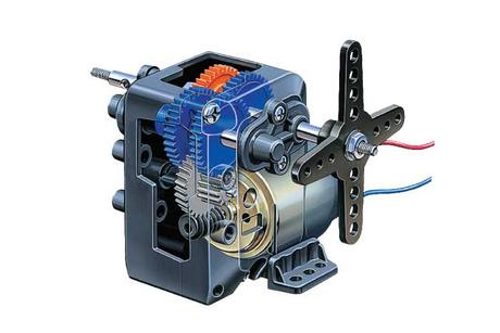 4-Speed Worm Gearbox He