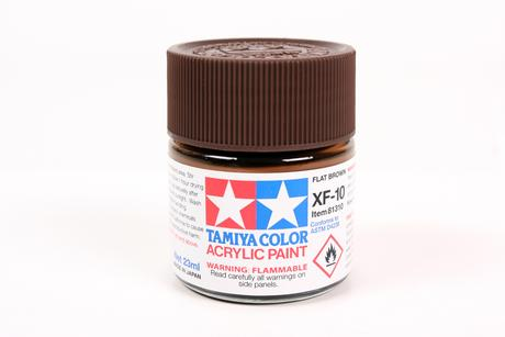Acrylic Xf-10 Flat Brown
