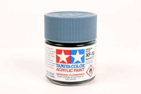 Acrylic Xf-18 Medium Blue