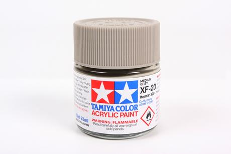 Acrylic Xf-20 Medium Gray