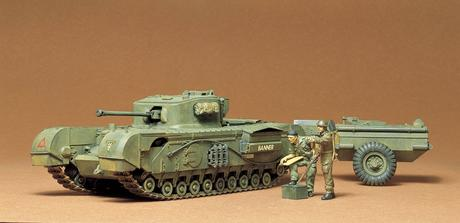 British Churchill C Tank Kit