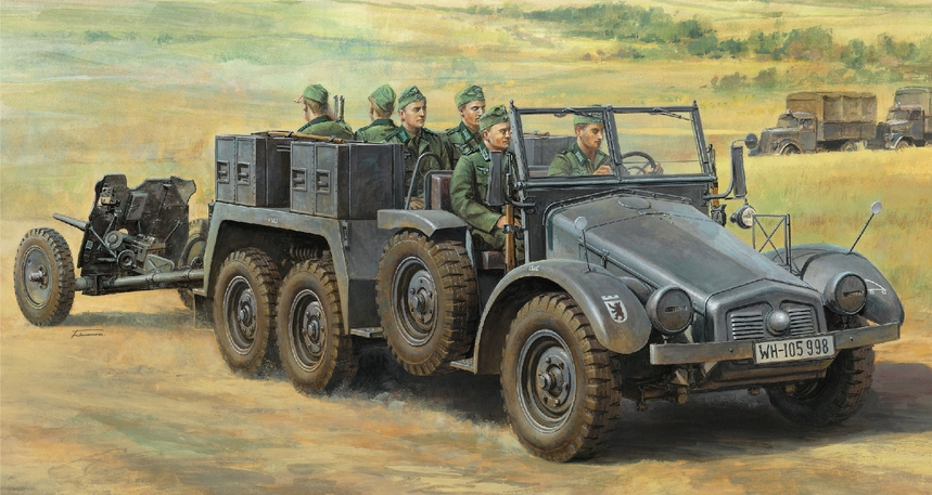 German 6X4 Towing Truck Kfz.69