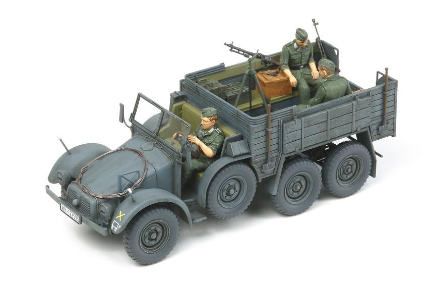 German 6X4 Truck Krupp Protze