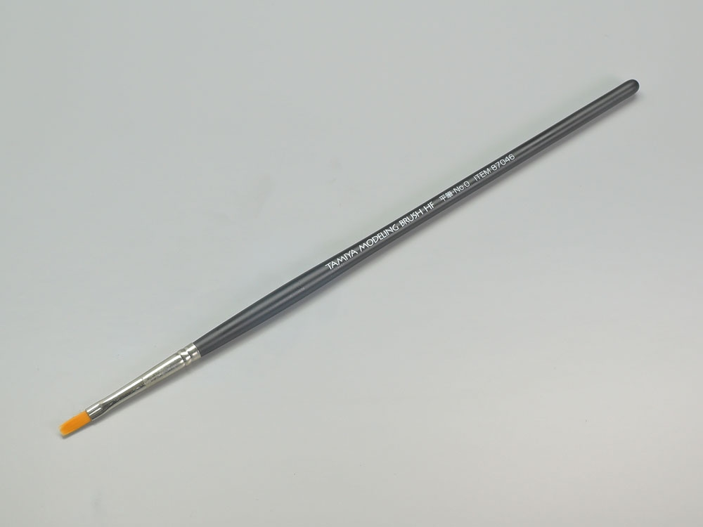 High Finish Flat Brush No.0