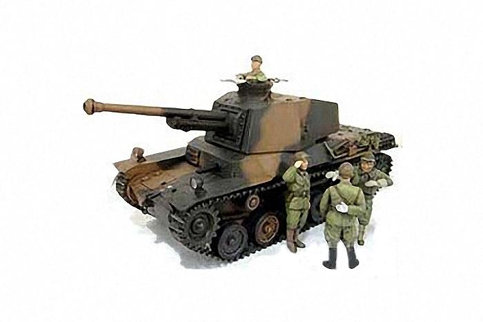 Japanese Type 3 Medium Tank 1/35 Chi-Nu (W/4 Figures) / Tamiya USA