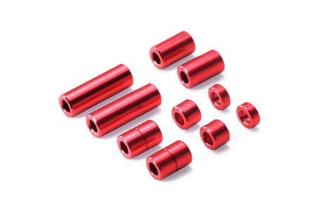 Jr Aluminum Spacer Set (Red)