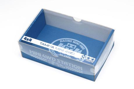 Jr Car Box Clear Covers