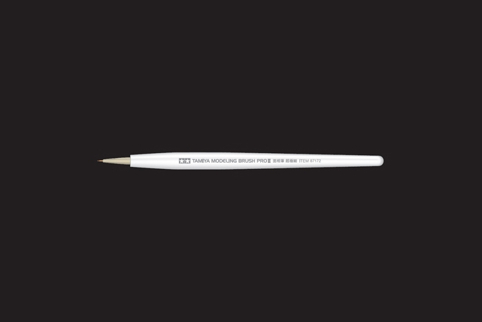 Tamiya 87172 Modeling Pointed Brush PRO II Ultra Fine