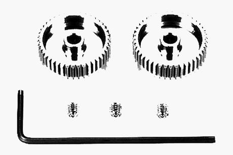 Rc 0.4 Pinion Gear (42T, 43T)