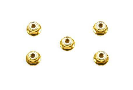 Rc Anodized Flange Lock Nuts