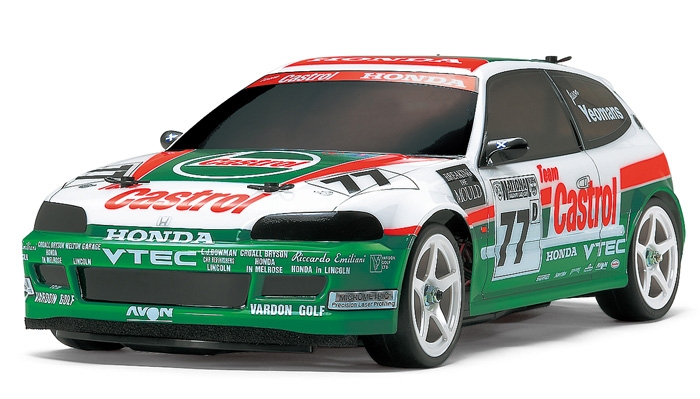 Rc Castrol Honda Civic Vti