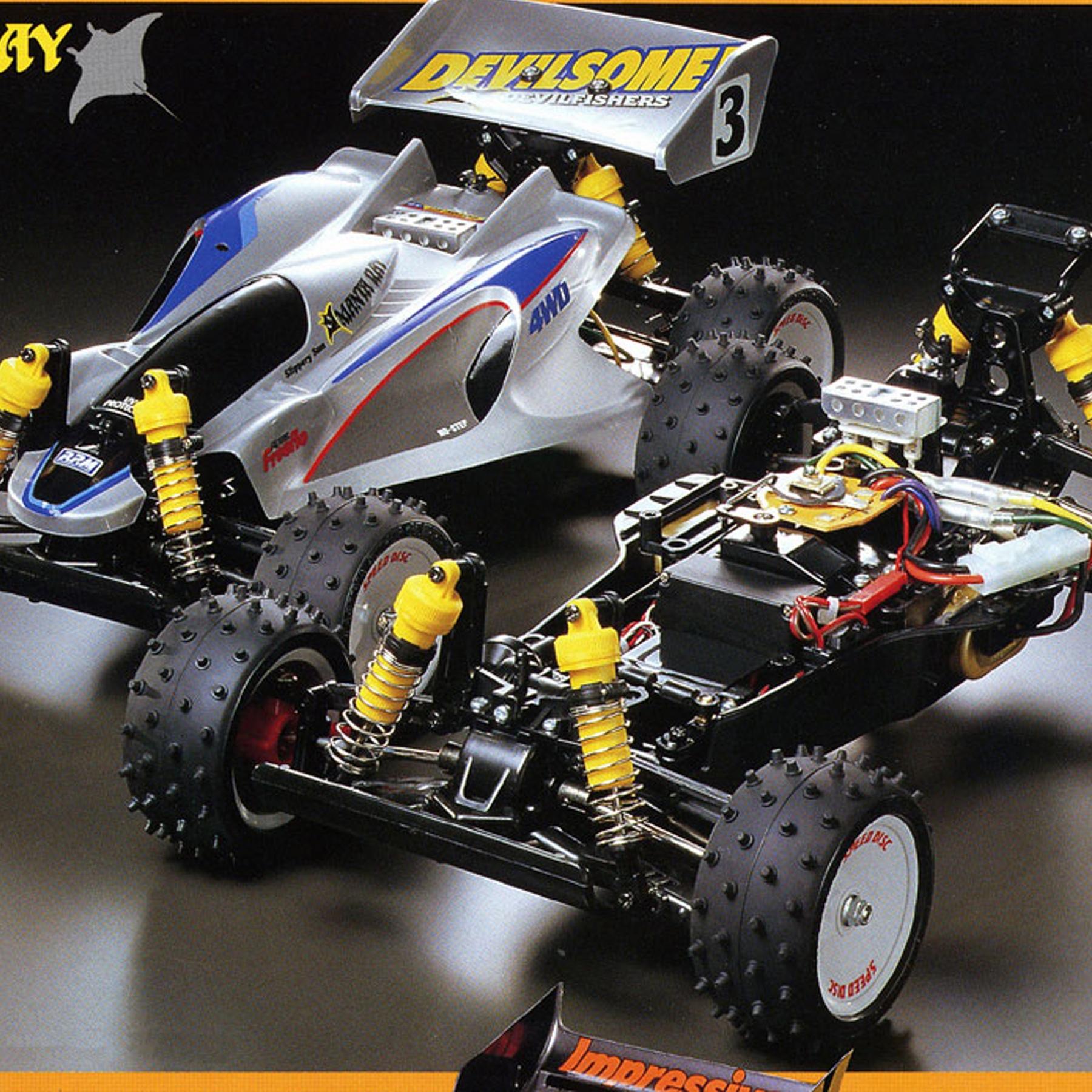58100 Tamiya 0005377//10005377//50554 Manta Ray//Top Force//Evolution C Parts NEW