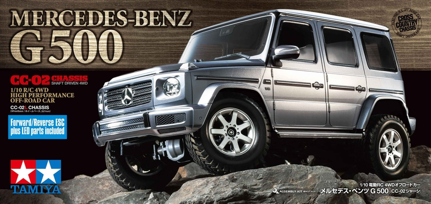 rcmart-blog-Tamiya-New-CC-02-Cross-Country-2-4WD-Mercedes-Benz-G500-Body-Hot-Topic-Crawler-191009