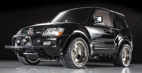 Rc Mitsubishi Pajero Black Sp.