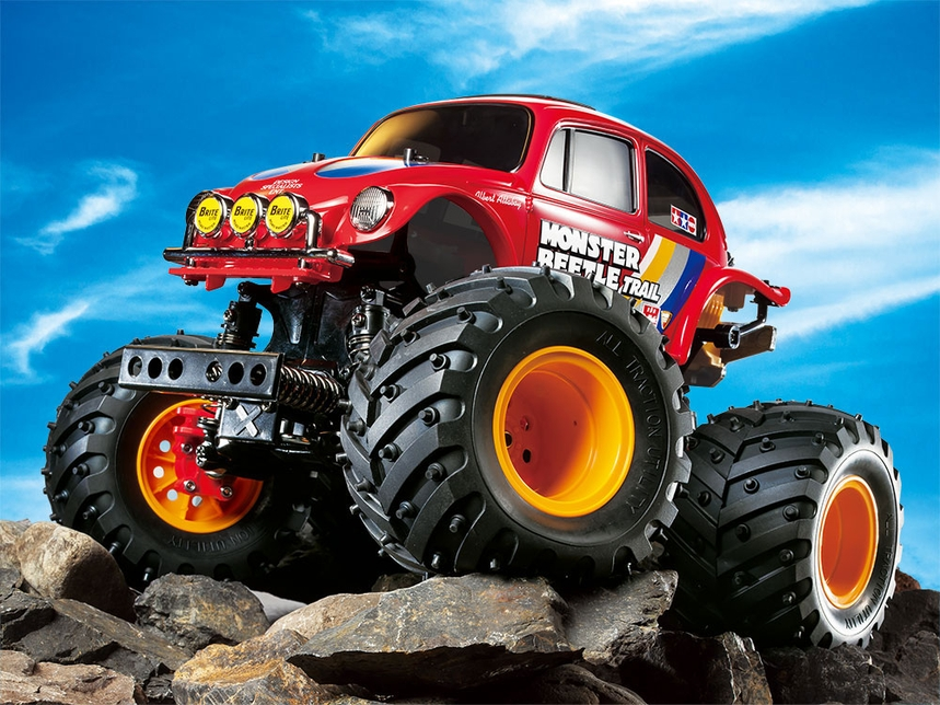 Rc Monster Beetle Trail