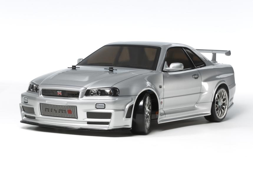 Rc Nismo R34 Gt-R Z-Tune Tt02D Drift Spec / Tamiya USA