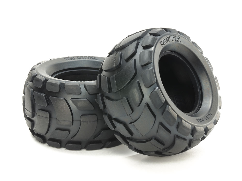 Rc Round Block Rr Bubble Tires