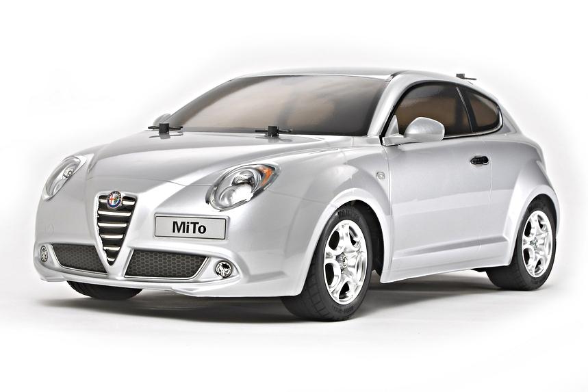 Alfa Romeo Mito >> Rc Rtr Alfa Romeo Mito Silver