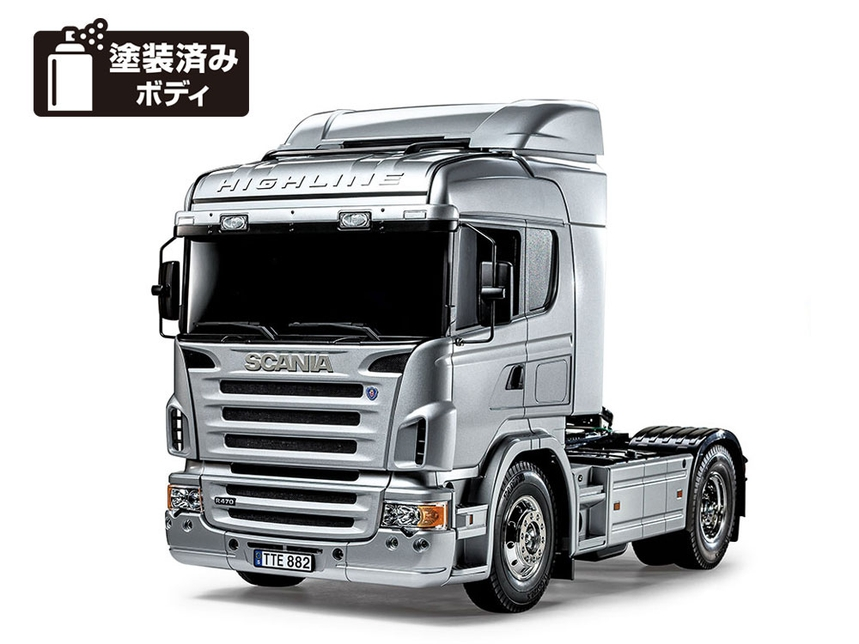 Rc Scania R470 Silver Edition