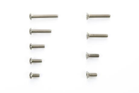 Rc Ta05-Vdf Ti Screw Set