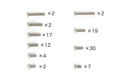 Rc Tb03Vds Titanium Screw Set