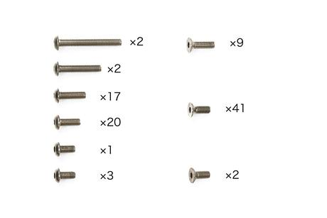 Rc Titanium Screw Set