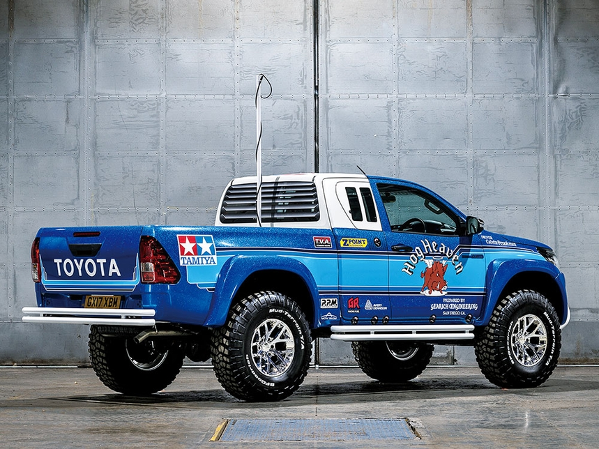 Rc Toyota Hilux Extra Cab