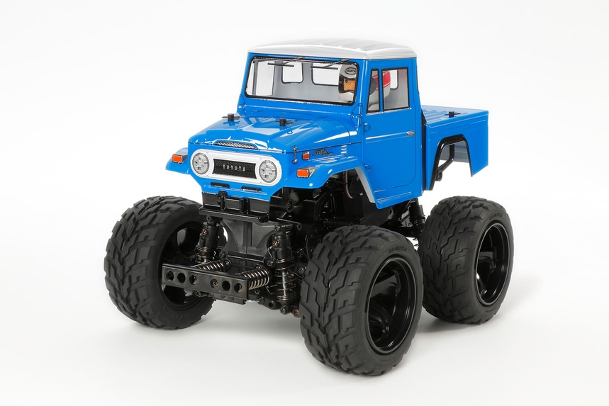 Aluminum rc snow plow with Snowmobile for TAMIYA GF-01 Chassis Land Cruiser 40