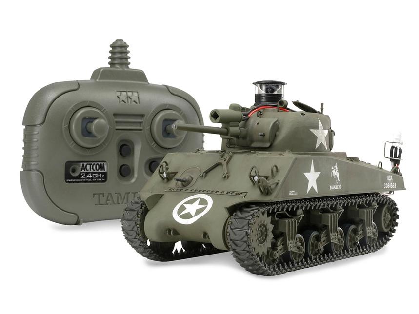 Rc Us Medium Tank M4A3 Sherman