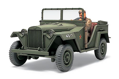 Russian Field Car Gaz-67B