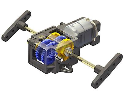 Single Gearbox (4 Speed)