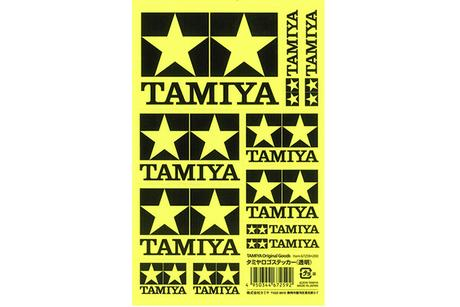 Tamiya Logo Sticker (Clear)