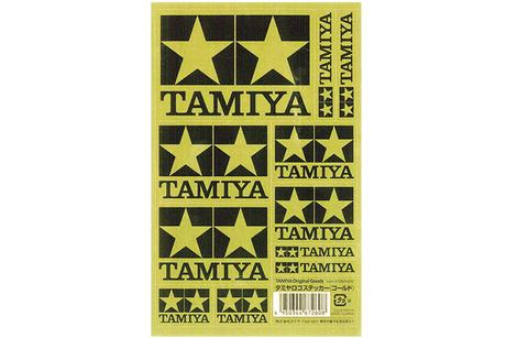 Tamiya Logo Sticker (Gold)